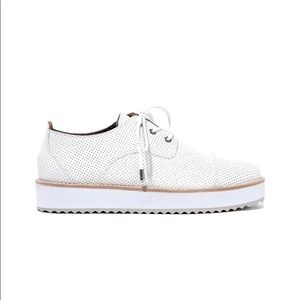 NWOB Zimmermann perforated Oxford shoes. Size 36